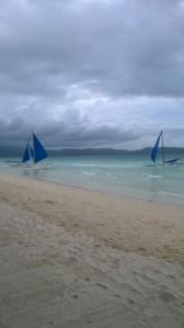 Sebelum Topan Hagupit (Boracay, Filipina)