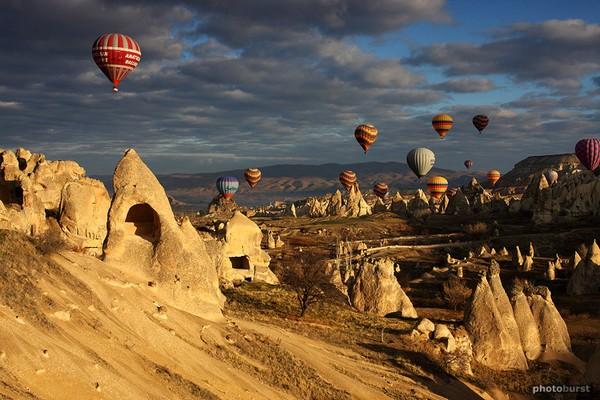 Cappadocia, Turki (source: pinterest)